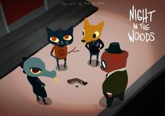 night in the woods - we found an arm by NoemieSzm Mae Borowski, Night In The Wood, Halloween Horror Nights, Cultura Pop, Furry Art, Funny Comics, Game Art, Anime, Pokemon