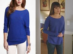 Rachel Berry's Blue Sweater In the new episode 'Fued' Lea wore another Vincesweater and her classic Season 4, boots and j...