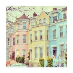 White Country House ❤ liked on Polyvore featuring backgrounds