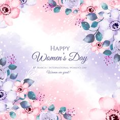 More than 3 millions free vectors, PSD, photos and free icons. Exclusive freebies and all graphic resources that you need for your projects Women's Day 8 March, 8th Of March, Happy Woman Day, Happy Women, International Womens Day Poster, Women's Day Cards, Good Evening Greetings, Beautiful Landscape Wallpaper, Star Illustration