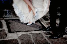 sparkling glass slippers
