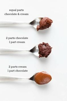 Chocolate ganache is incredibly versatile. By combining just two ingredients, chocolate and heavy whipping cream, you can create cake filling, poured glaze, . (whipped ganache how to make) Frosting Recipes, Cake Recipes, Dessert Recipes, Cake Filling Recipes, Cake Fillings, How To Make Chocolate, Making Chocolate, Types Of Chocolate, Homemade Chocolate