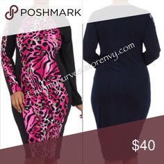 Dress 💕HOST PICK💕 1x fits 12/14 polyester/spanned new w/o tag Boutique Dresses Midi