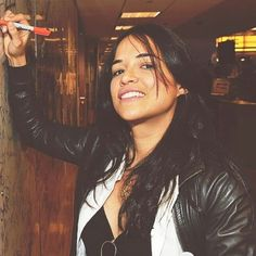 """Michelle Rodriguez is Eve (Evalia """"Eve"""" Jiminez Barreras); my inspiration for """"Eve of Destruction. Michelle Rodriguez, Vin Diesel, Paul Walker, Gal Gadot, Dom And Letty, Idole, Badass Women, Cara Delevingne, Girl Crushes"""