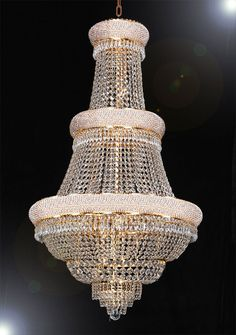 Foyer / Entry Way CHANDELIER Chandeliers, Crystal Chandelier, Crystal Chandeliers, Lighting