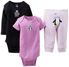 "Carter's Baby Girls' 3 Piece ""Take Me Away"" Set (Baby) - Totally Cute - Purple - Newborn Carter's http://smile.amazon.com/dp/B00LHXCU1Q/ref=cm_sw_r_pi_dp_0Mzovb1GD8239"