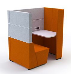 Cubbi Acoustic Enclosure - Product Page: http://www.genesys-uk.com/Screens-And-Dividers/Cubbi-Acoustic-Enclosure/Cubbi-Acoustic-Enclosure.Html  Genesys Office Furniture - Home Page: http://www.genesys-uk.com  Cubbi Acoustic Enclosures are a range of free-standing, sound absorbing modules, with cable management facilities, which provide the users with an enclosed space, offering privacy and reduced noise levels.