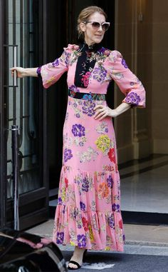 Celine Dion: The Big Picture: Today's Hot Photos Celine Dion, Forever Love, Big Picture, Floral Maxi Dress, Hottest Photos, Flower Power, Two Piece Skirt Set, Singer, Celebrities
