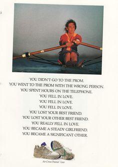 Nike Ad, 1990 (F)