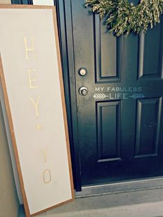 Craftaholics Anonymous® | Welcome Sign and DIY Projector