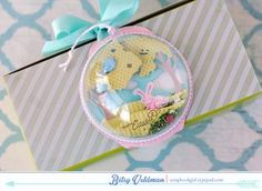 Easter Bunny Gift Topper by Betsy Veldman for Papertrey Ink (February 2015)