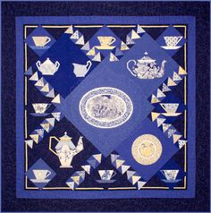 """""""China"""" quilt pattern by Laurel Anderson at Whisper Color.  Featured at Quilt Inspiration"""