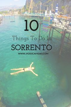 A list of the top 10 things to do in Sorrento... mostly food related!