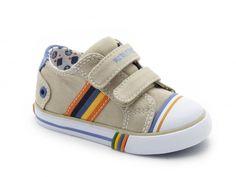 Velcro Stripes Sneaker. I need a boy!
