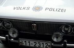 DDR, Meiningen, Auto der Volkspolizei, 1979 | by Kurt Tauber