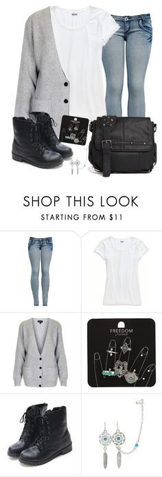 """""""I can't believe how cruel and cold some people act"""" by rocketsheep ❤ liked on Polyvore featuring Aerie, Topshop, Religion Clothing, lyrics and lagwagon"""