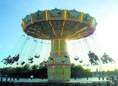 Grona Lunds Tivoli (fun park for kids) - Stockholm, Sweden