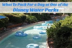 What To Pack For a Day at One of the Disney World Water Parks #MagicalFamilyFirsts #cbias #ad