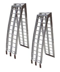 Pair of Loading Ramps ATV Quad UTV 4 Wheeler Motorcycle, 89 X 12, Aluminum           $ 110.00 Motorcycle & ATV Product Features Unfolded, 89″ X 12″, folds to 46″ X 12″ X 7″ Single Ramp Capacity of 750 pounds, pair is 1500 pounds Includes safety straps to secure ramp to truck or trailer. Constructed of rust proof, light weight aluminum These folding ramps will make loading your favorite toy easy. […]  http://www.liveautomotive.com/pair-of-loading-ramps-atv-quad-utv-4-wheeler..