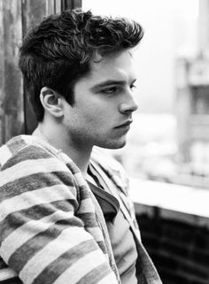 Sebastian stan, one of my favorites // lost in thought // pinterest: thelittlelies