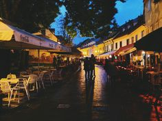 Evening in #Zagreb #BlogCroatia