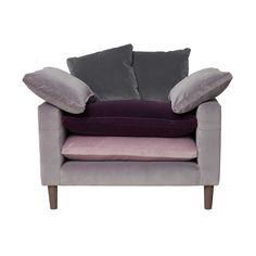 Pablo Snuggler, Voluptuous Velvet | Sofas | Living Room