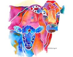 Cow Art and More: Jo Lynch