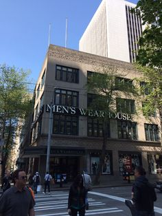 Men's Wearhouse, Seattle, Washington | #ArtDeco