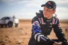 """""""It's a long race—you have to balance saving the car and getting the max out of it."""" –Mikko Hirvonen, MINI Driver in #Dakar2016. #MINI"""