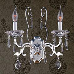 Crystal Wall Lamp - Katerina