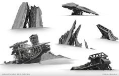 Stunning Collection of STAR WARS: THE FORCE AWAKENS Concept Art Released by ILM — GeekTyrant