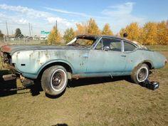 1968 1969 Cutlass 442 Doors Door Sport Coupe Post Oldsmobile W30