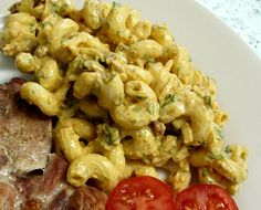 Jenny Eatwell's Rhubarb & Ginger: Curried Pasta Salad