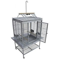 This durable and lightweight King`s Aluminium Play Gym Top Parrot Cage has all the features you'd come to expect from a Parrot cage, including feeders, strong coating and more. Shop now. Senegal Parrot, King Cage, Large Bird Cages, Front Door Locks, Play Gym, Gym Tops, Conure, Nesting Boxes, Playpen