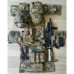 Multicam Tactical Gear