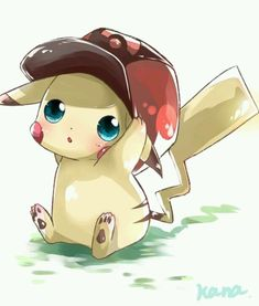 Pikachu, this is just too cute.