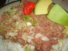 Caribbean Cabbage with Canned Corned Beef (bully beef) Recipe. Canned Corned Beef, Slow Cooker Corned Beef, Corned Beef Recipes, Keto Cabbage Recipe, Cabbage Recipes, Radish Recipes, Zoodle Recipes, Broccoli Recipes, Guyanese Recipes