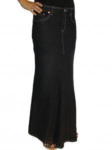 Jean Skirt so cute