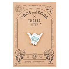 Odds and Sods x Thalia Surf Enamel Pin