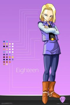 androide n 18 | Fuentes de Información - androide numero 18
