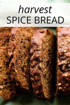 This harvest spice bread is infinitely adaptable, made with brown sugar, apples,. Pumpkin Bread, Pumpkin Pie Spice, Cinnamon Spice, Pumpkin Recipes, Fall Recipes, Autumn Bread Recipes, Dessert Bread, Dessert Recipes, Apple Desserts