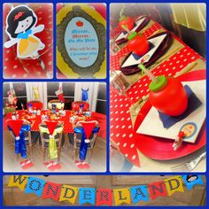 Snow White Christmas Event   Party Printables by www.PerfectPackages.Blog.com