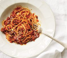 Slow-Cooker Spaghetti Bolognese