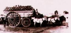 En la ciudad de Buenos Aires, el punto general de reunión de viajeros y tropas de carretas que partían para los pueblos del interior fue en un principio