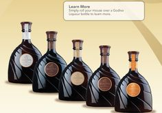 Godiva Chocolate Liqueur : I have got to try these for my coffee since it is so hard to get my Bailey's Mint Chocolate White Chocolate Liqueur, Coconut Hot Chocolate, Chocolate Gifts, Mint Chocolate, Chocolate Lovers, Chocolate Martini, Chocolate Liquor, Organic Chocolate, Holiday Gift Guide