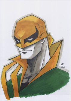 Iron Fist Marvel, Comic Art, Comic Books, Marvel Comics Art, Punisher, Detailed Image, Marvel Universe, Marker, Art Reference