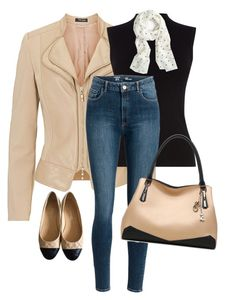 for working#99 by bidlekerika on Polyvore featuring polyvore fashion style Oasis Betty Barclay Chanel J.Crew clothing