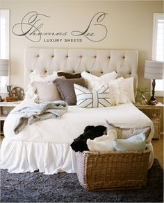 my bedroom .. even if only for one day. i did get to buy the headboard. (;