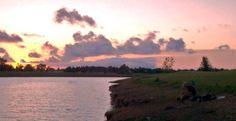 Lake Sakakawea Sunset