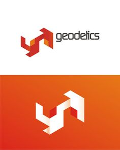 geodetics, topography, real estate, civil engineering logo design